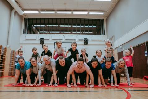 Kuva: Suomen Olympiakomitea, Liikuntaleikkikoulu